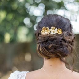 """""""Flora"""" Peigne floral"""