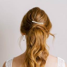 """""""Eloa"""" Peigne de mariée avec perles nacrées"""