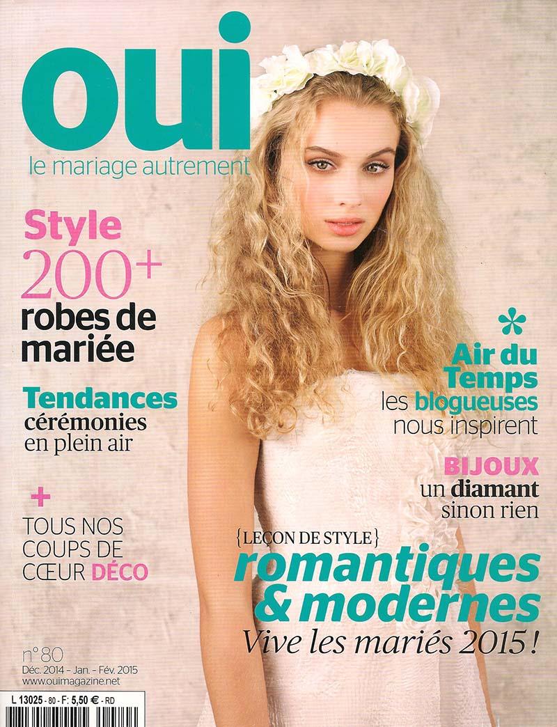 Couverture Oui Magazine n°80